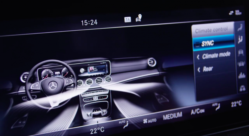 W213 Mercedes-Benz E-Class – mini S-Class interior revealed ahead of January 11 debut Image #417766