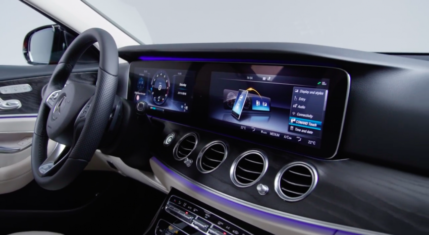 W213 Mercedes-Benz E-Class – mini S-Class interior revealed ahead of January 11 debut Image #417767