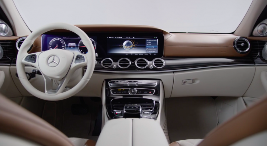 W213 Mercedes-Benz E-Class – mini S-Class interior revealed ahead of January 11 debut Image #417760