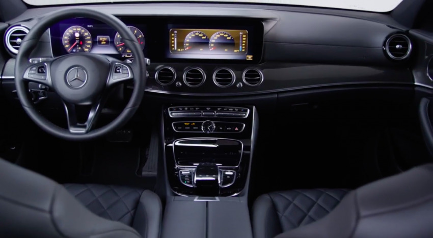 W213 Mercedes-Benz E-Class – mini S-Class interior revealed ahead of January 11 debut Image #417761