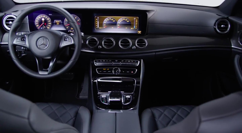 W213 Mercedes-Benz E-Class – mini S-Class interior ...