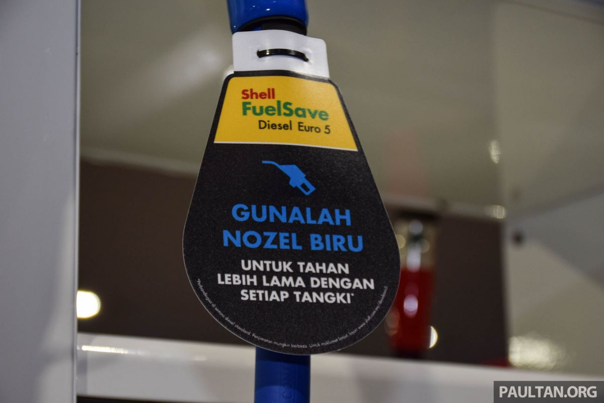 Shell FuelSave Euro 5 diesel now available outside Johor - five