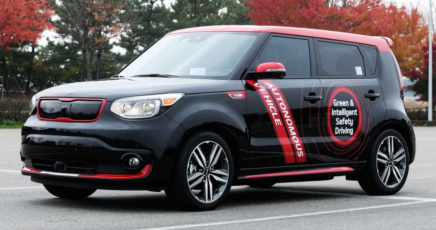 Kia gets licence to test autonomous tech in Nevada Image #419391