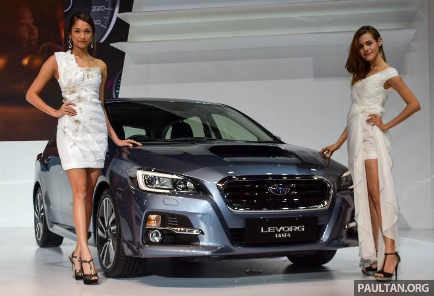 Subaru Levorg makes regional debut in Thailand Image #414572