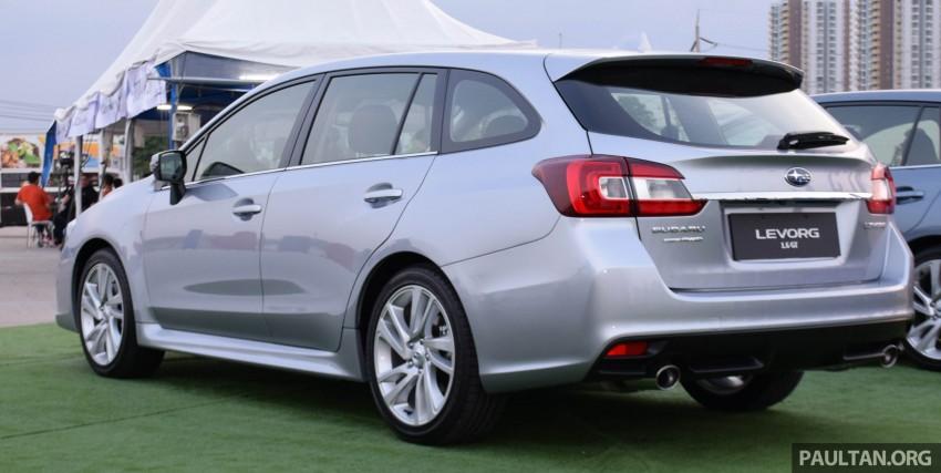 Subaru Levorg makes regional debut in Thailand Image #414581