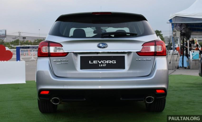Subaru Levorg makes regional debut in Thailand Image #414582