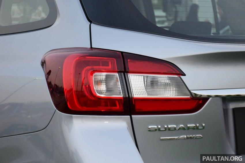 Subaru Levorg makes regional debut in Thailand Image #414583