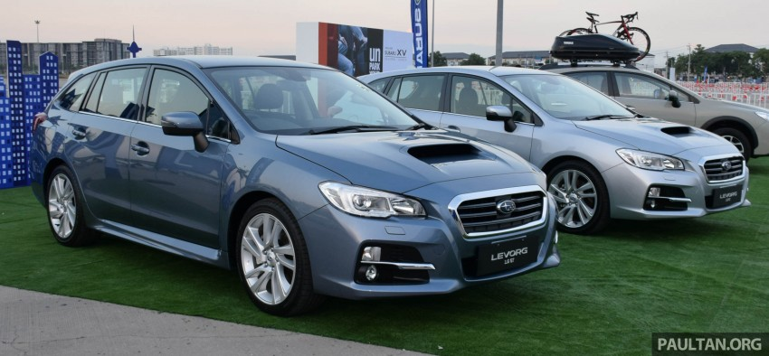 Subaru Levorg makes regional debut in Thailand Image #414586