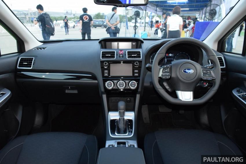Subaru Levorg makes regional debut in Thailand Image #414587