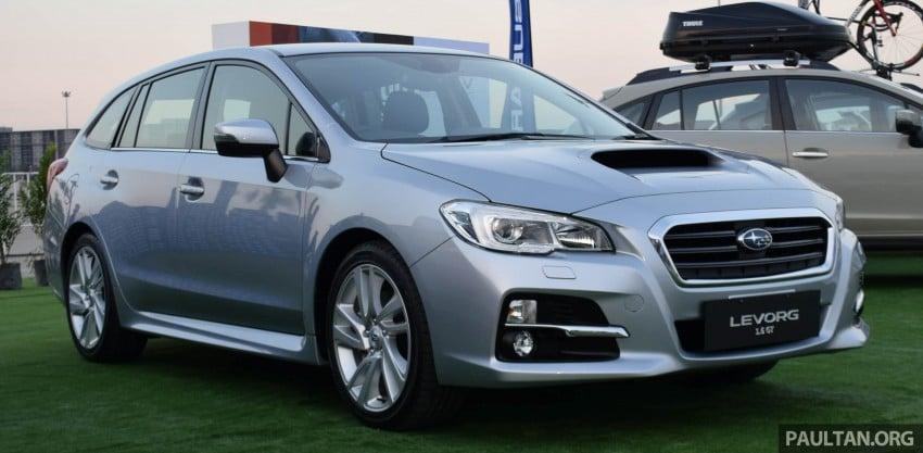 Subaru Levorg makes regional debut in Thailand Image #414573