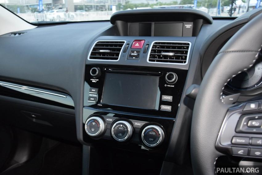 Subaru Levorg makes regional debut in Thailand Image #414591