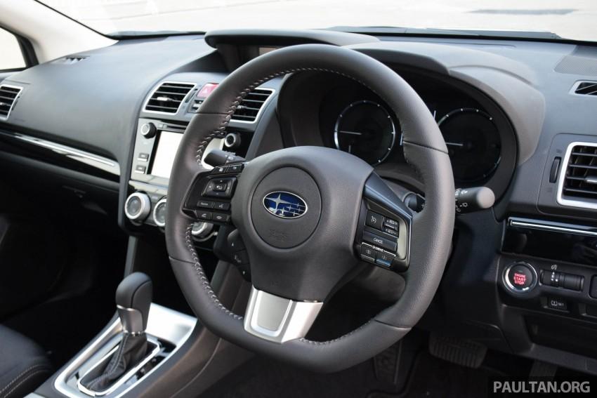 Subaru Levorg makes regional debut in Thailand Image #414596