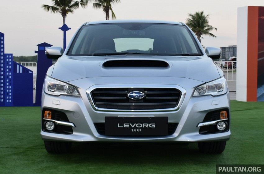 Subaru Levorg makes regional debut in Thailand Image #414574