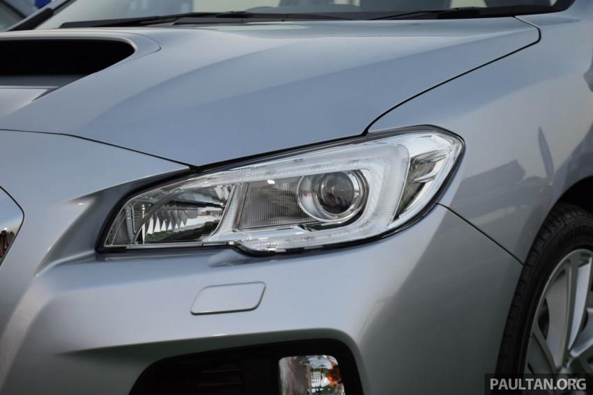 Subaru Levorg makes regional debut in Thailand Image #414576