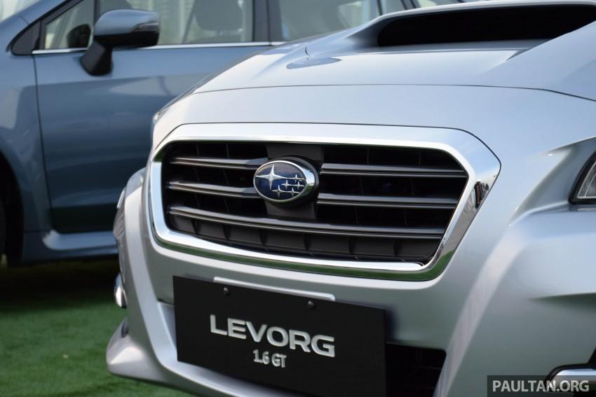 Subaru Levorg makes regional debut in Thailand Image #414578