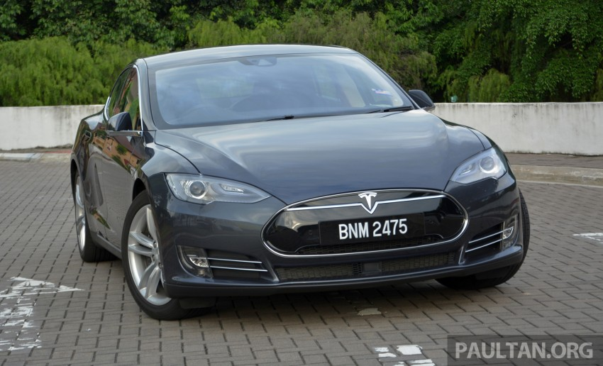 DRIVEN: Tesla Model S 85 – exclusive first-drive report Image #422429