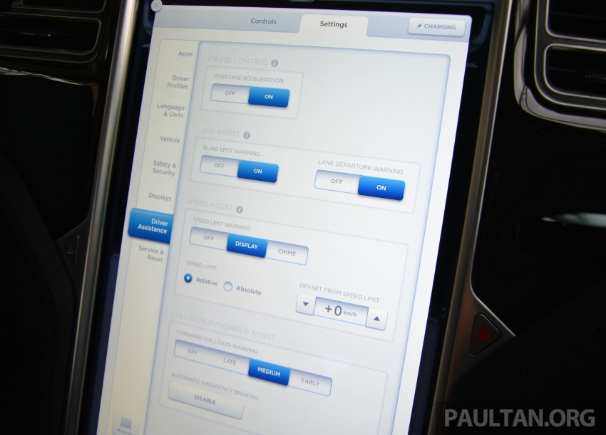 DRIVEN: Tesla Model S 85 – exclusive first-drive report Image #422443