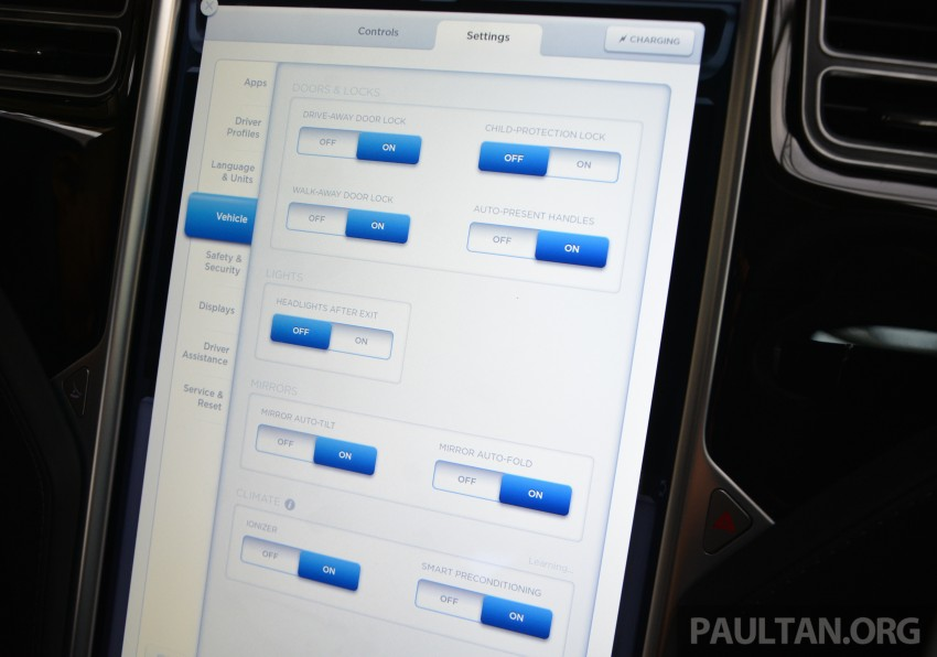 DRIVEN: Tesla Model S 85 – exclusive first-drive report Image #422444