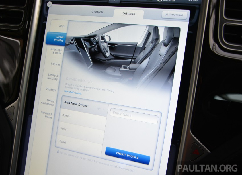 DRIVEN: Tesla Model S 85 – exclusive first-drive report Image #422445