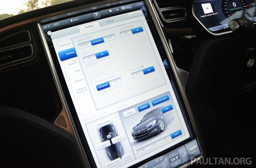 DRIVEN: Tesla Model S 85 – exclusive first-drive report Image #422450