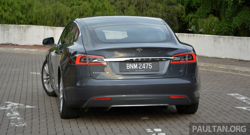 DRIVEN: Tesla Model S 85 – exclusive first-drive report Image #422431