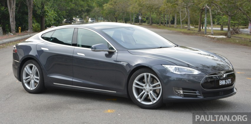 DRIVEN: Tesla Model S 85 – exclusive first-drive report Image #422460