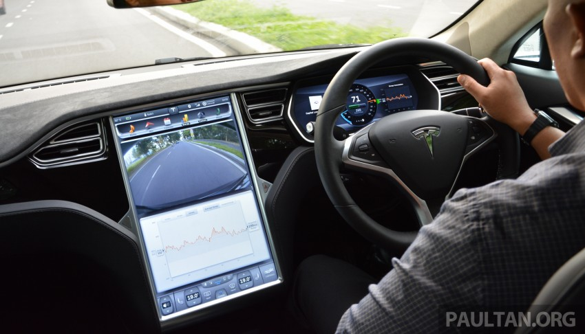 DRIVEN: Tesla Model S 85 – exclusive first-drive report Image #422463