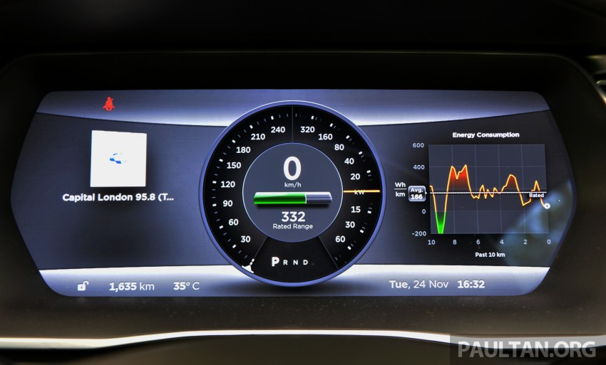 DRIVEN: Tesla Model S 85 – exclusive first-drive report Image #422464