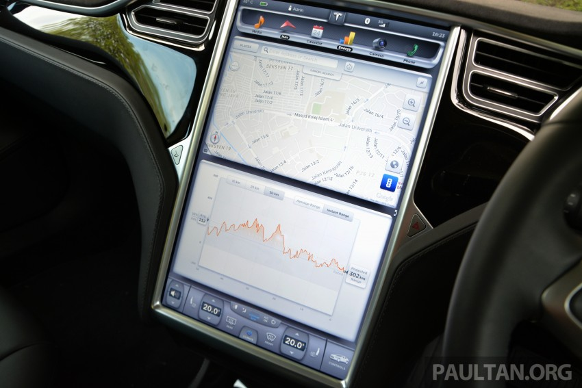 DRIVEN: Tesla Model S 85 – exclusive first-drive report Image #422404