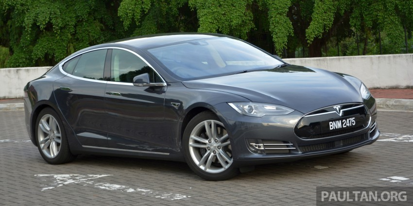 DRIVEN: Tesla Model S 85 – exclusive first-drive report Image #422433