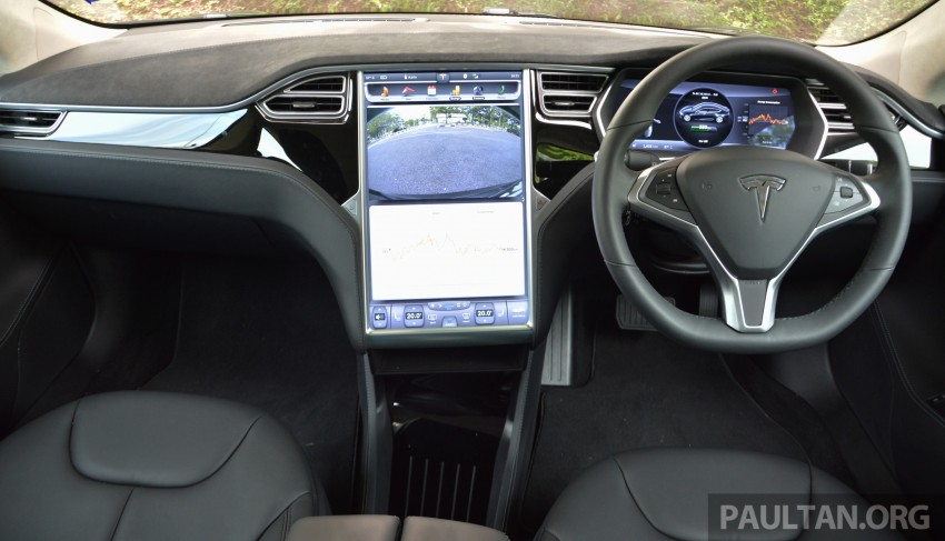 DRIVEN: Tesla Model S 85 – exclusive first-drive report Image #422408
