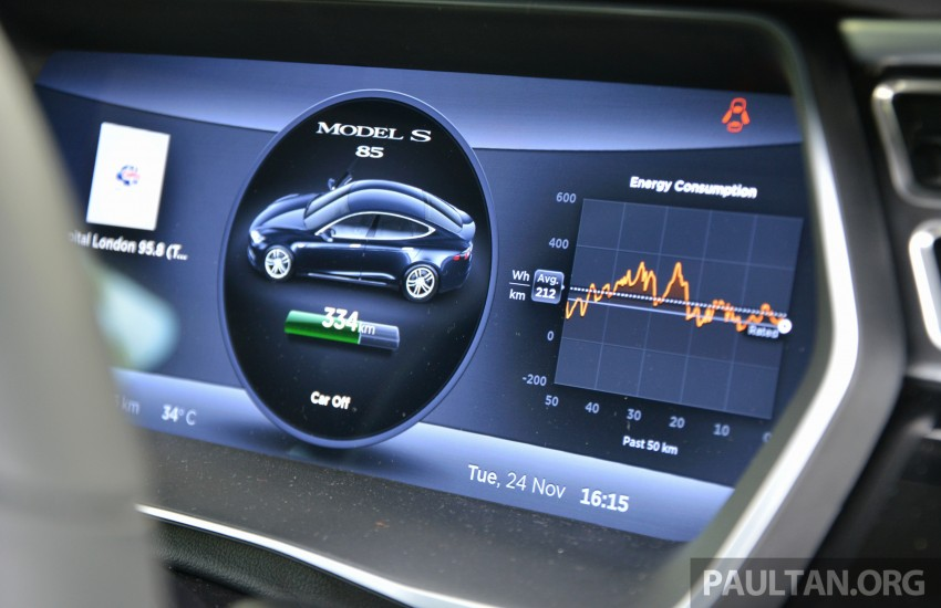DRIVEN: Tesla Model S 85 – exclusive first-drive report Image #422421