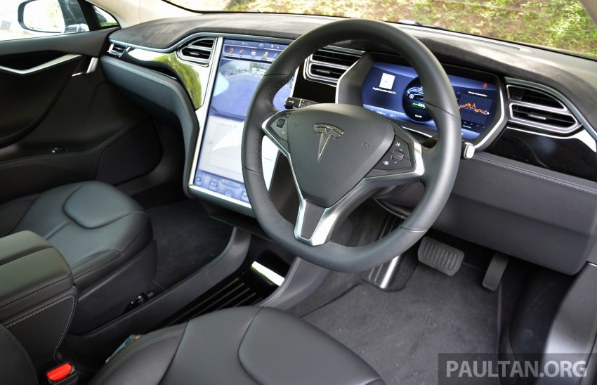 DRIVEN: Tesla Model S 85 – exclusive first-drive report Image #422422