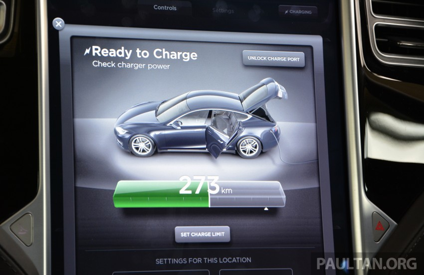 DRIVEN: Tesla Model S 85 – exclusive first-drive report Image #422436