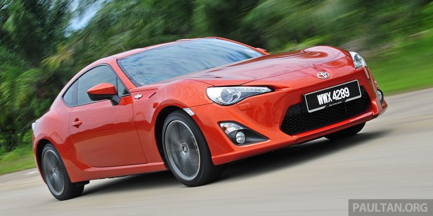 Toyota 86 recalled - 15k units in OZ, M'sia affected too