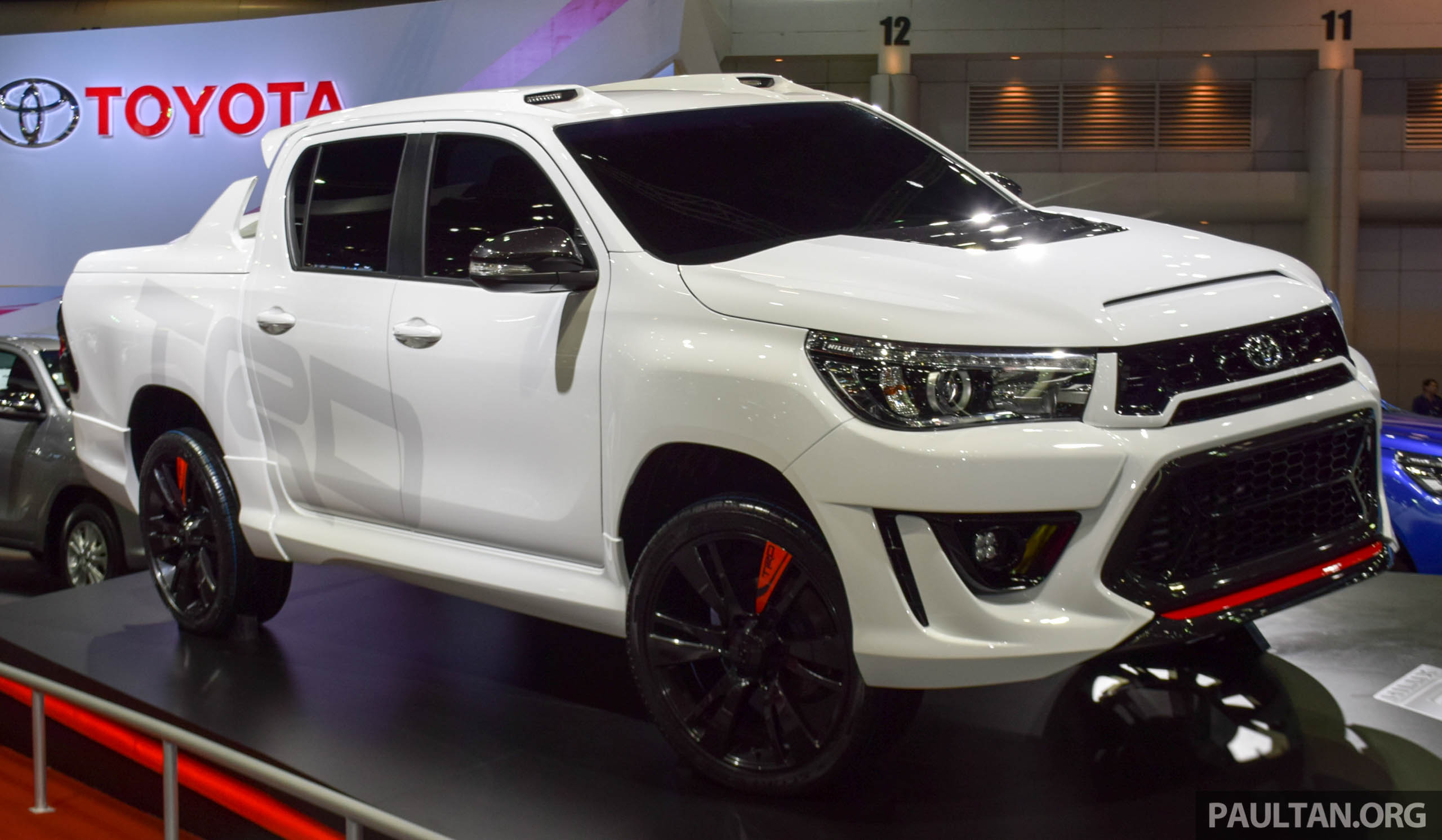 Toyota Hilux Revo Sport Concept Unveiled In Bangkok