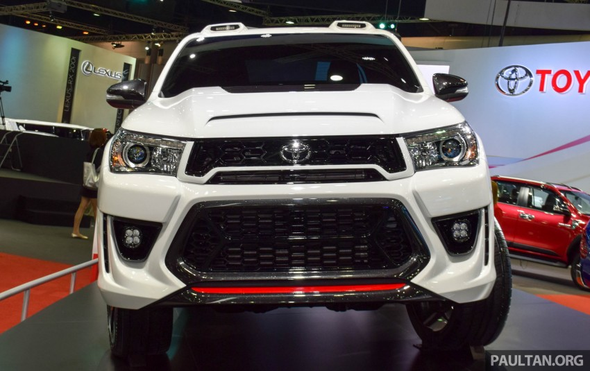 Toyota Hilux Revo Sport Concept unveiled in Bangkok Image #414190