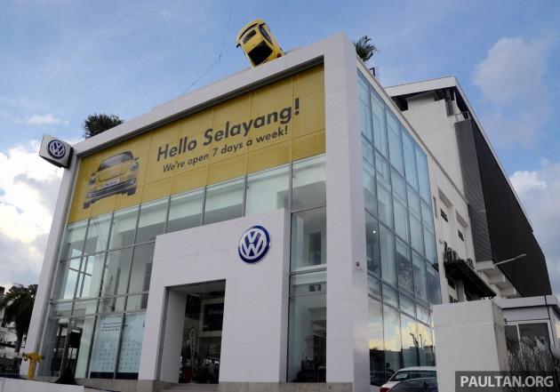 Volkswagen 4S Selayang Technical Centre-01
