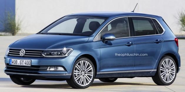 Volkswagen Polo render 1