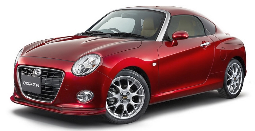 Daihatsu Copen goes Coupe and Shooting Brake route Image #422910