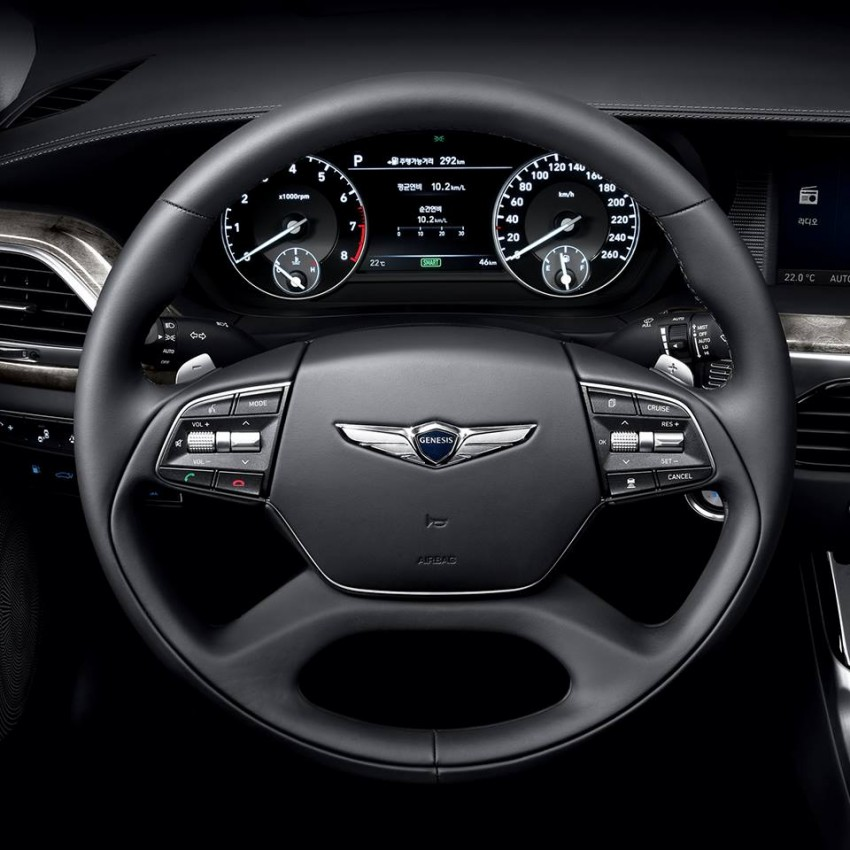 Genesis G90 (EQ900) revealed – new S-Class fighter? Image #418095