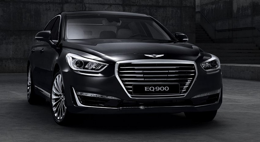 Genesis G90 (EQ900) revealed – new S-Class fighter? Image #418097