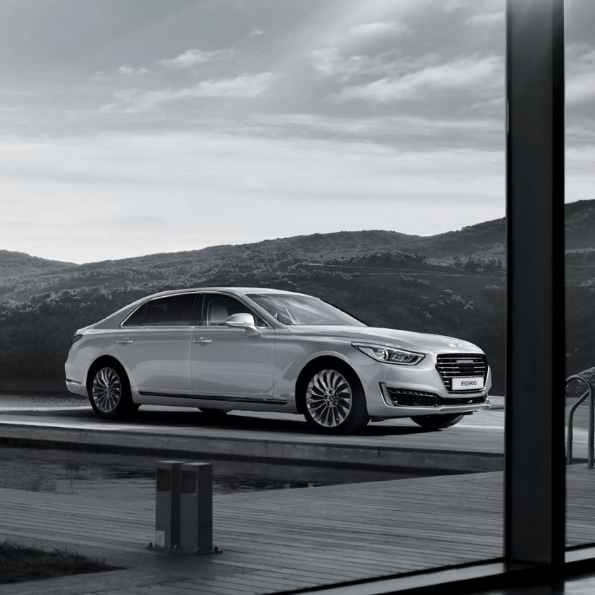Genesis G90 (EQ900) revealed – new S-Class fighter? Image #418078