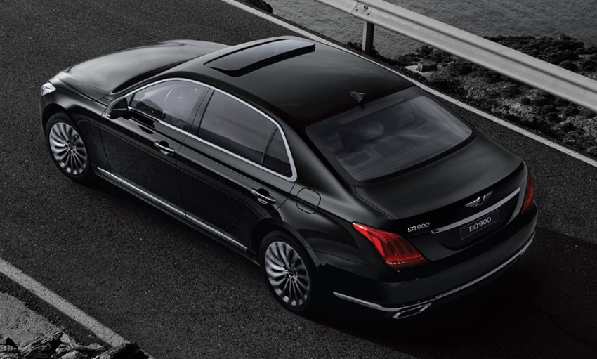 Genesis G90 (EQ900) revealed – new S-Class fighter? Image #418081