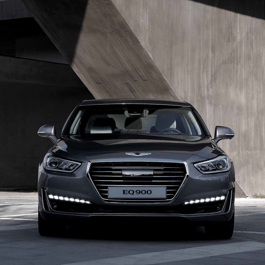 Genesis G90 (EQ900) revealed – new S-Class fighter? Image #418082