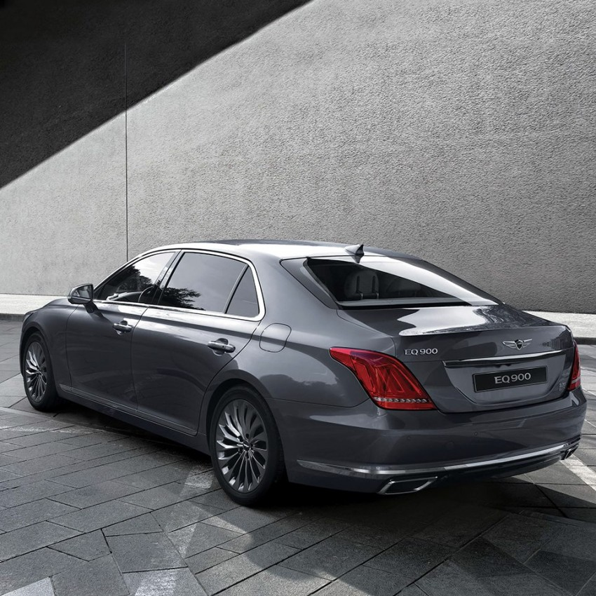 Genesis G90 (EQ900) revealed – new S-Class fighter? Image #418083