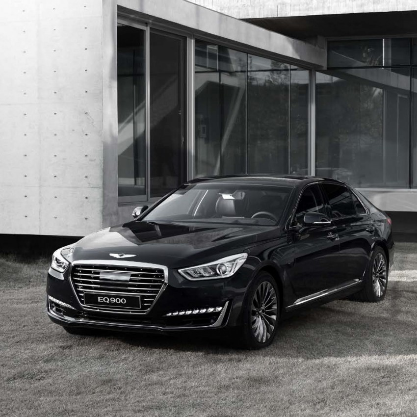 Genesis G90 (EQ900) revealed – new S-Class fighter? Image #418084