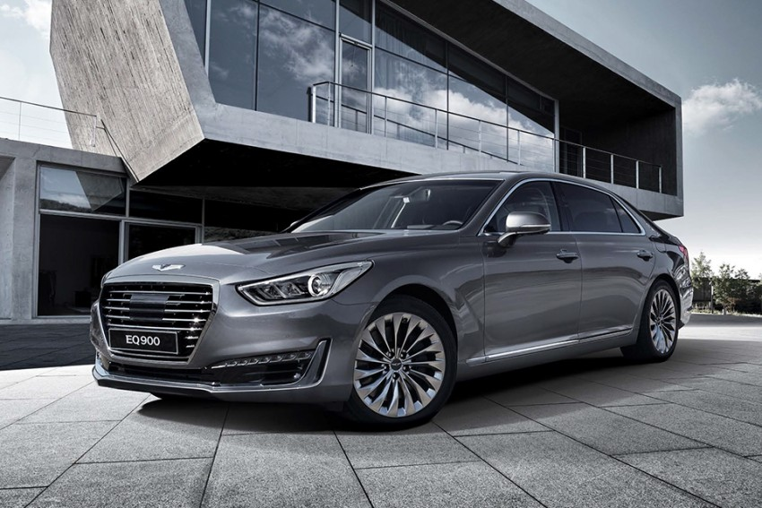 Genesis G90 (EQ900) revealed – new S-Class fighter? Image #418086