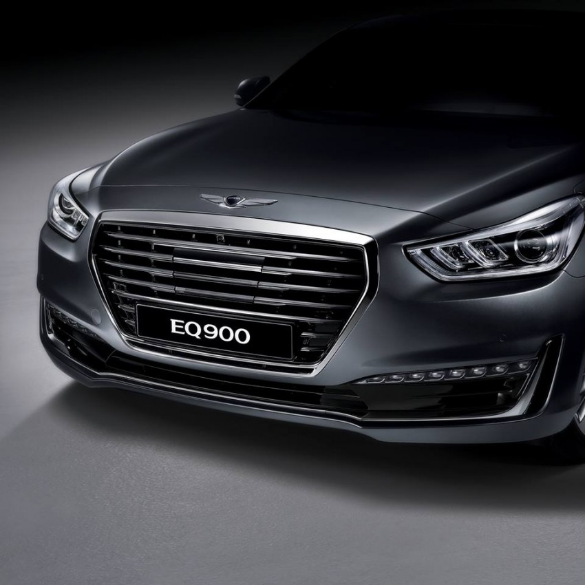Genesis G90 (EQ900) revealed – new S-Class fighter? Image #418087