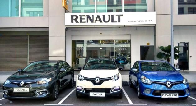 Tc Euro Cars Opens Renault Showroom In Seremban